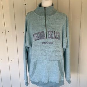 Jackets & Blazers - Pullover Virginia Beach Jacketl Green Women's 2XL
